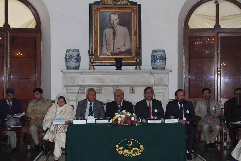 Celebration of National Voters day at Governor House Punjab