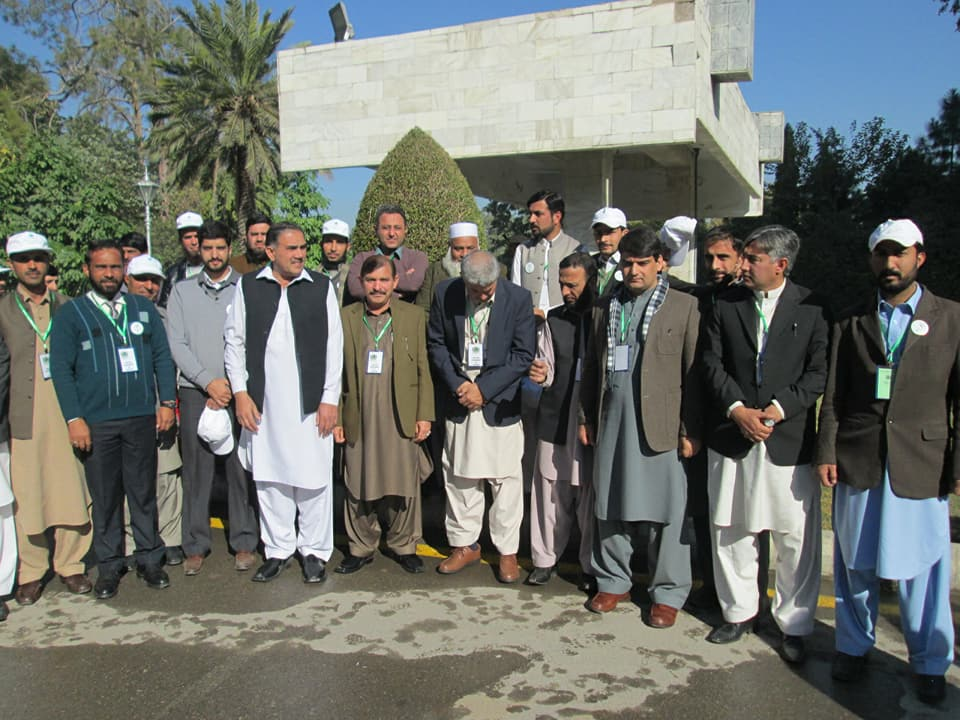 Celebration of National Voters Day at Governor House KPK